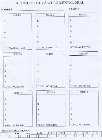 Hoja de registro (Modelo)
